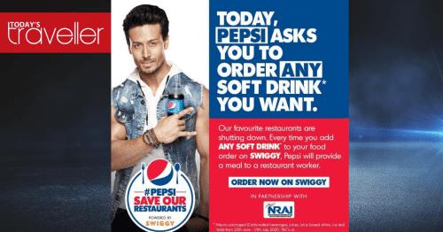 1 #PepsiSaveOurRestaurants launched