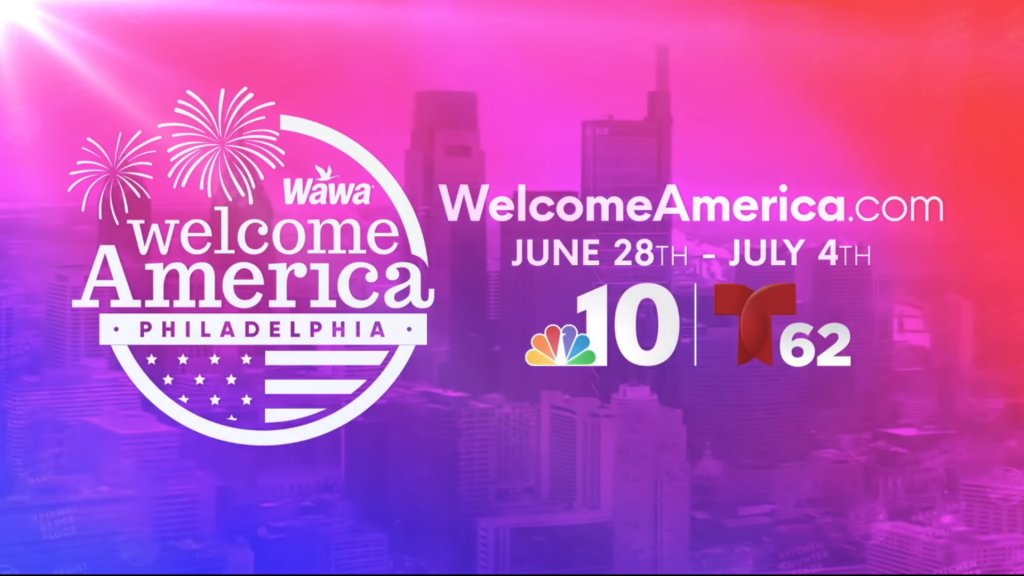 Click to subscribe 2020Wawa Welcome America-Virtual festival
