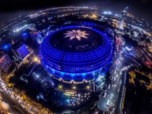 AERIAL NIGHT VIEW OF HOTEL SAHARA STAR.JPG Manish Sodhi: Adaptability to change is the only way to survive