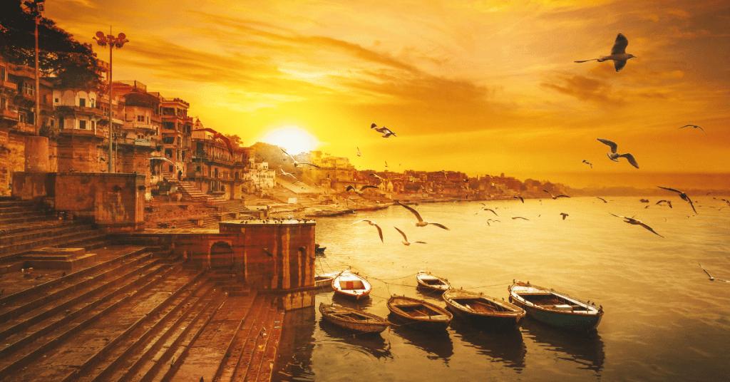 Popular ghats of Varanasi