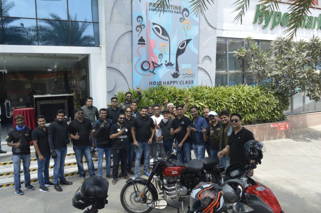 IMG 20201025 WA0302 A great Ride for Hospitality with Hotel GMs Guild-India