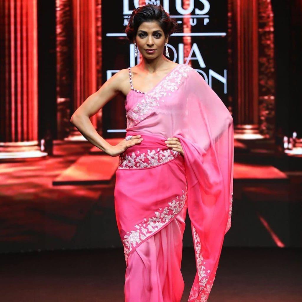 IMG 5519 Ravi Bajaj 60/70s throwback makes it big at phygital India Fashion Week