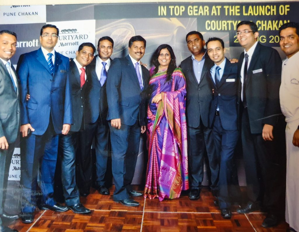 Preopening Team CYM Chakan 1 Ritu Chawla Mathur: Dare to dream and create your success story
