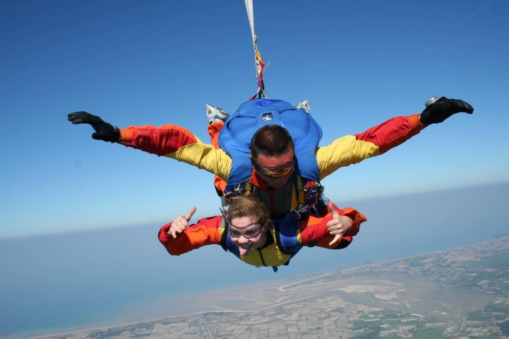 Chute libre en Normandie Pump up the adrenaline with great outdoor activities