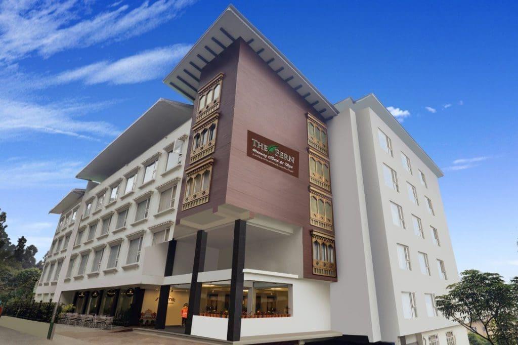 Exterior Facade Gangtok The Fern Denzong Hotel & Spa, Gangtok debuts in beautiful Sikkim