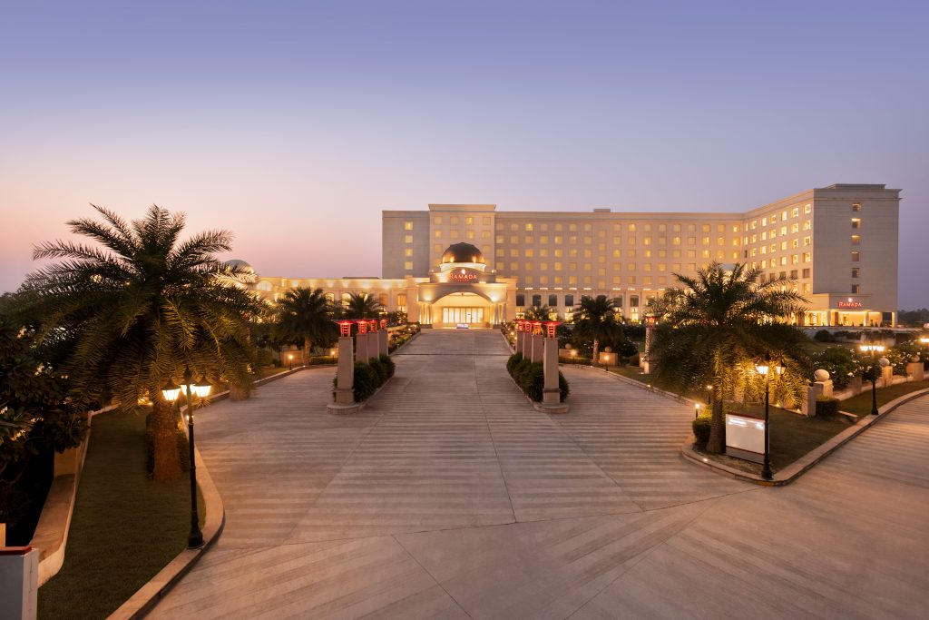 Ramada Lucknow Frontage Exterior 1337822 Wyndham Hotels & Resorts new initiative plays up its core competency – ease of doing business