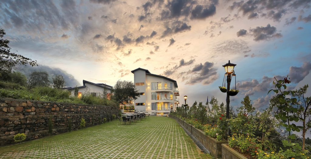 Sunset Garden At Welcomhotel Shimla 2 ITC Hotels launch Welcomhotel Shimla in the beautiful hill state of Himachal Pradesh