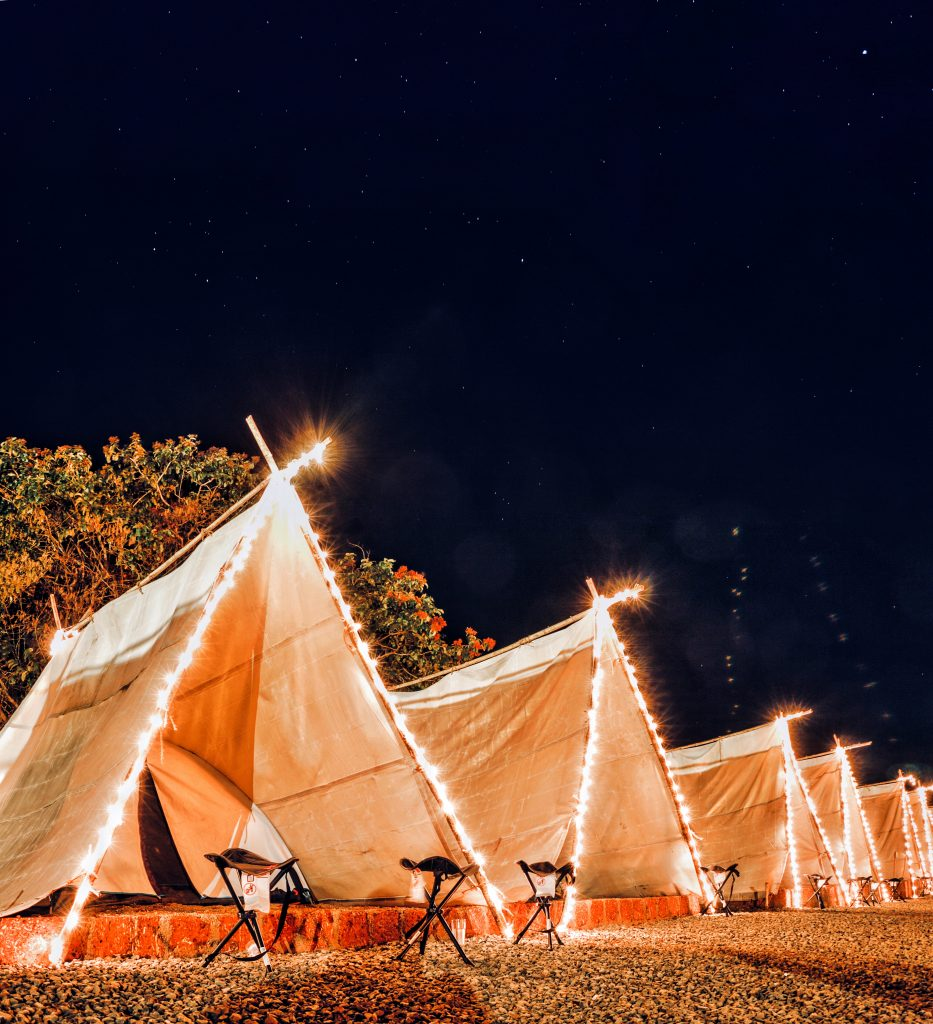 IMG 3790 Movies under the sky Weekends near Mumbai for great Tent stays and Glamping
