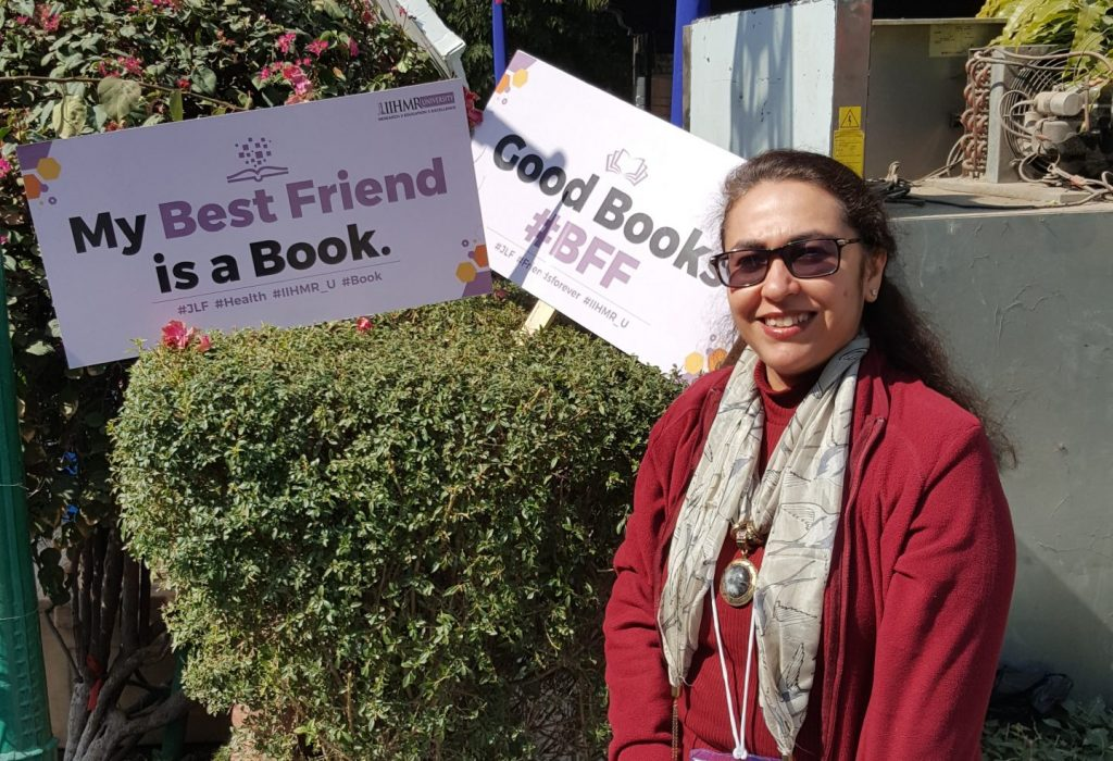 Jaipur Literature Festival you will find me there every January scaled e1611827626119 Ritu Bhatia Kler : A journey of a 1000 miles must begin with a single step