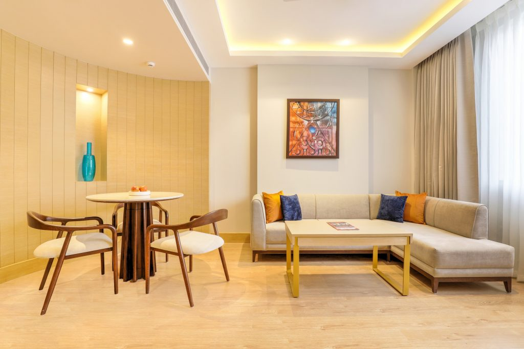 Junior suite living room shot 1 Lemon Tree Hotels opens 68-key Lemon Tree Hotel, Aligarh
