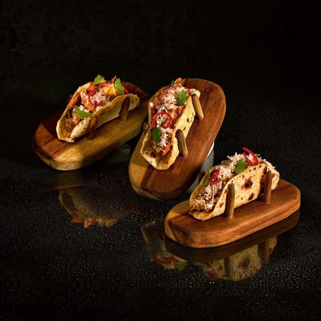 Pulled Kathal Phulka Taco Manish Mehrotra - Rare Culinary Exemplar