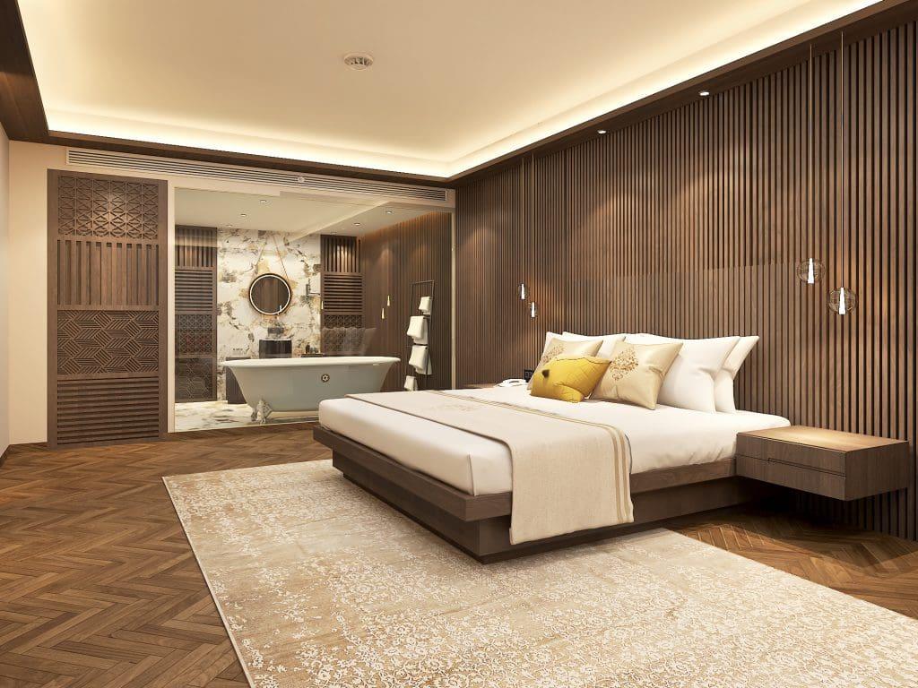 Suite Bedroom Lemon Tree Premier launches its new property in Vijayawada