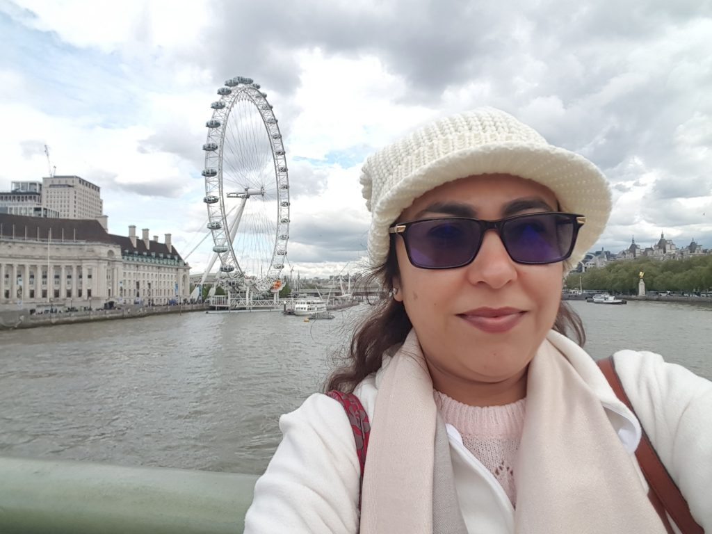 Travelling London 1 Ritu Bhatia Kler : A journey of a 1000 miles must begin with a single step