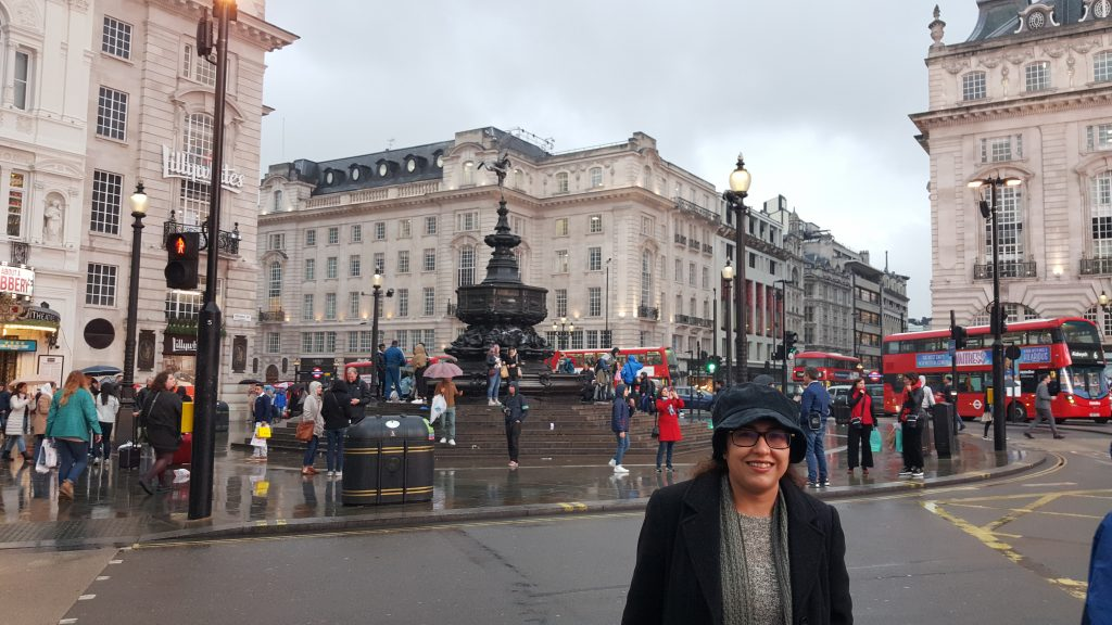 Travelling London Ritu Bhatia Kler : A journey of a 1000 miles must begin with a single step