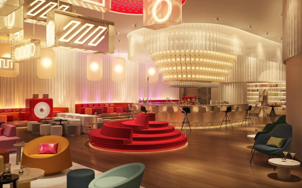 W Osaka KV living room bar 1 Marriott continues Asia Pacific growth with 100 properties to open in 2021