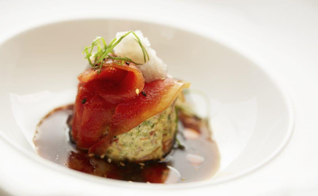 Watermelon Sashimi Salad Ranveer Brar - Life on a Plate