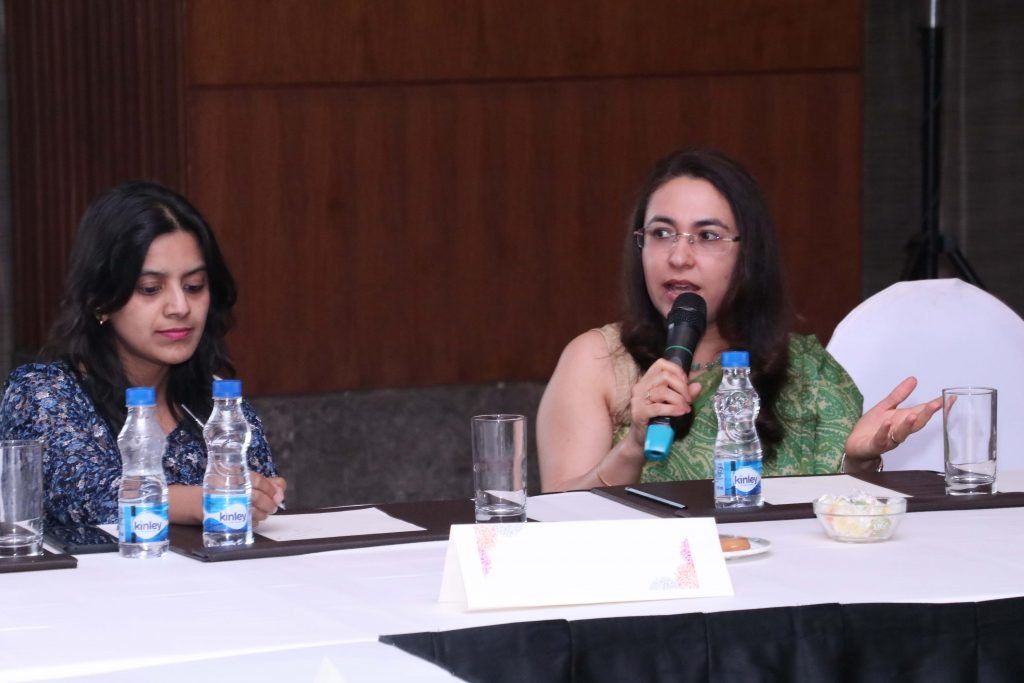 Women Leadership in Architecture and Design held at Leela Ambience Gurgaon 1 Ritu Bhatia Kler : A journey of a 1000 miles must begin with a single step