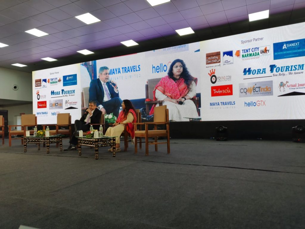 Business Session Mr. Arvind Singh Ms. Mamta Verma ADTOI 10th Annual Convention-cum-Exhibition takes place in Kevadia Gujarat