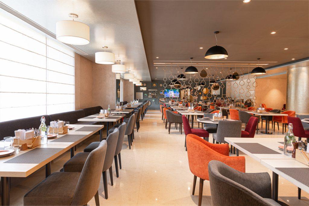La Utsav Restaurant Dning Area Accor opens second Grand Mercure in Bengaluru