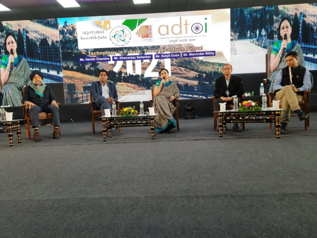 Technology is Future Travel Real from Future ADTOI 10th Annual Convention-cum-Exhibition takes place in Kevadia Gujarat