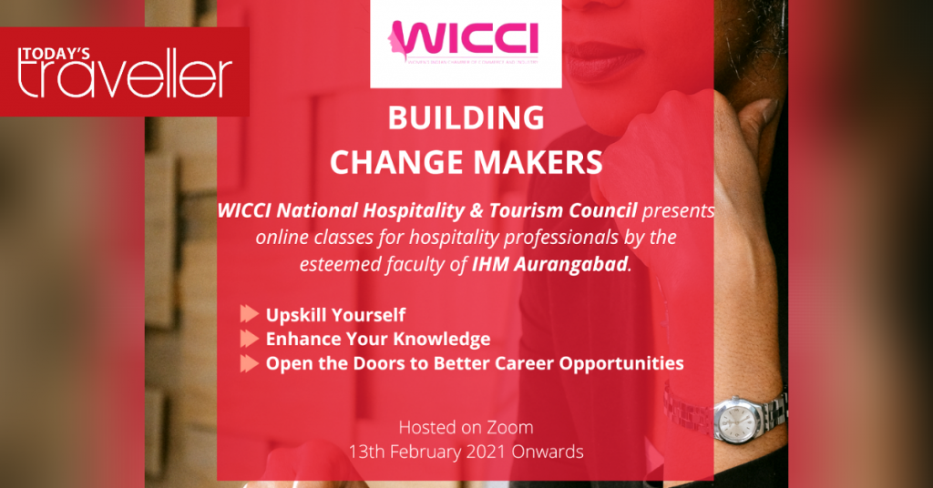 WICCI WICCI National Hospitality & Tourism Council Announces Online Classes In Collaboration With IHM Aurangabad