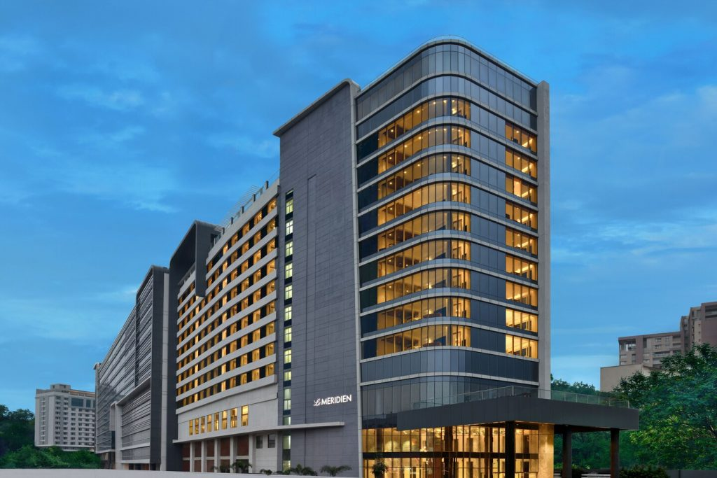 hydmd facade 9330 hor clsc Le Meridien Hyderabad has appointed Nitin Marriya as the new Hotel Manager