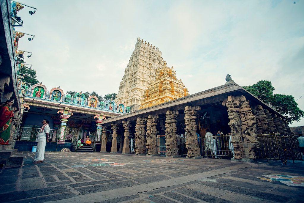 Srisailam temple in Andhra Pradesh