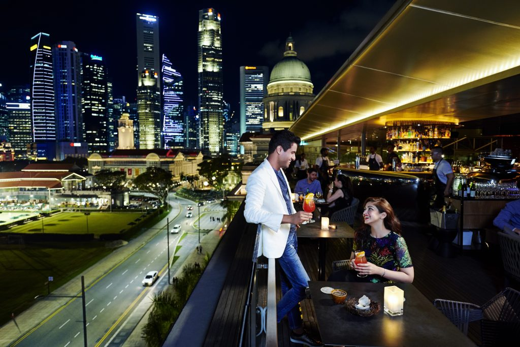 46 Established careers enjoying a drink at Smoke Mirrors National Gallery Singapore MICE: Continued outreach effort to engage India's key MICE Corporates