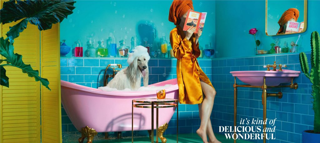 """Its Kind of Delicious and Wonderful Bathroom Still """"It's kind of delicious and wonderful,"""" says Glenmorangie in its new brand campaign in India"""