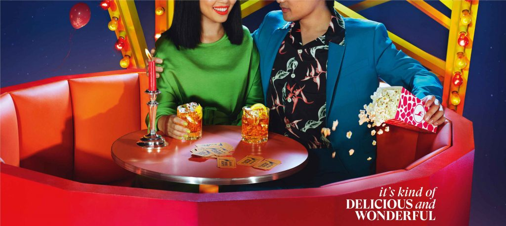 """Its Kind of Delicious and Wonderful Ferris Wheel """"It's kind of delicious and wonderful,"""" says Glenmorangie in its new brand campaign in India"""