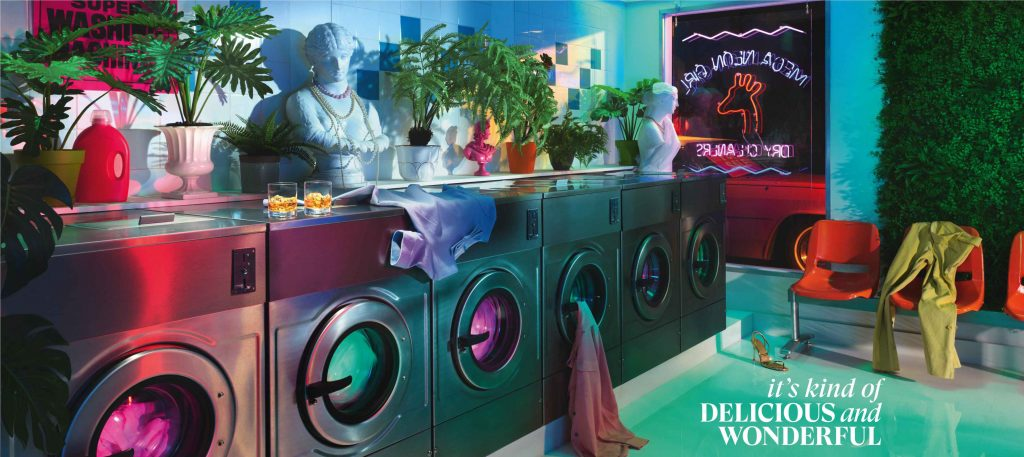"""Its Kind of Delicious and Wonderful Laundromat Still """"It's kind of delicious and wonderful,"""" says Glenmorangie in its new brand campaign in India"""