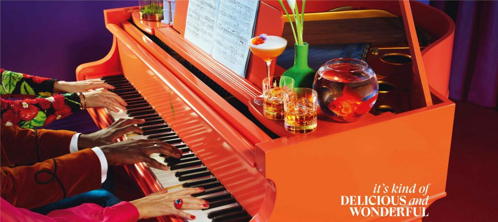"""Its Kind of Delicious and Wonderful Piano Still """"It's kind of delicious and wonderful,"""" says Glenmorangie in its new brand campaign in India"""