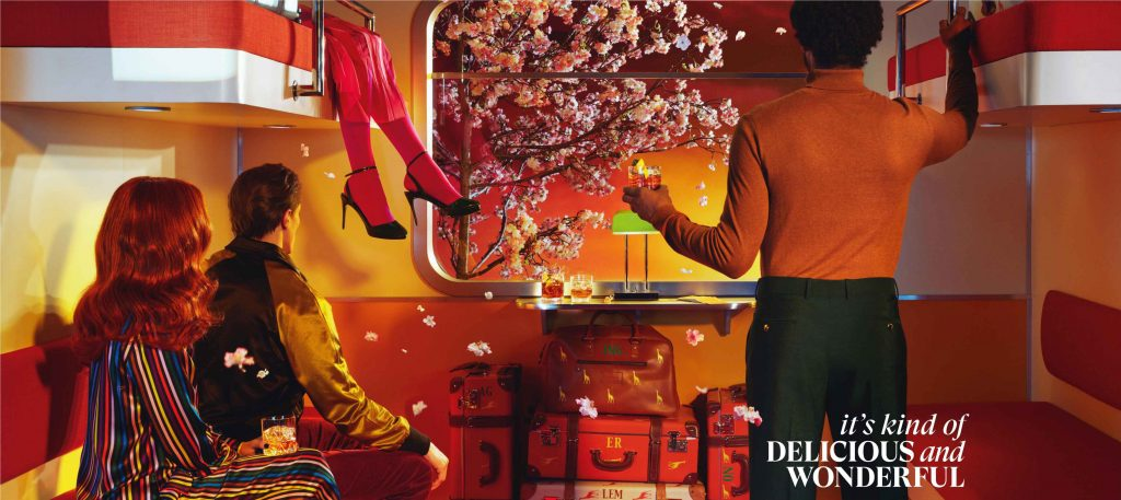 """Its Kind of Delicious and Wonderful Train Still """"It's kind of delicious and wonderful,"""" says Glenmorangie in its new brand campaign in India"""
