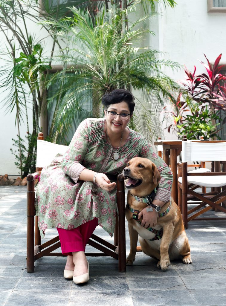 Poonam 3 Poonam Singh Veliath : Follow your heart as you take the road less travelled