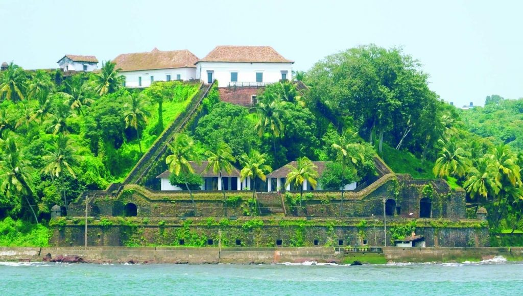 Reis Magos Fort View from Mandovi River Best Islands To Visit In India