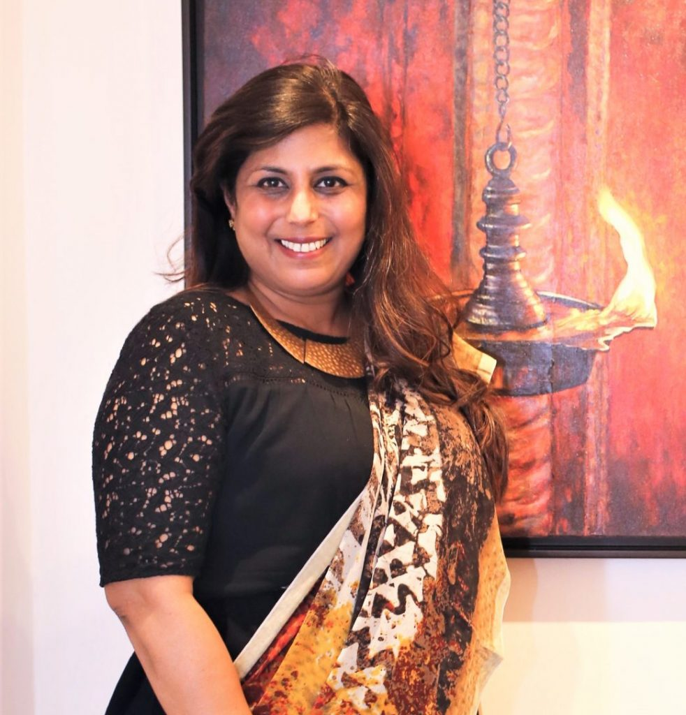 Ritu the artist 1 1 scaled e1614949772904 WICCI National Hospitality and Tourism Council launches Skill Development initiative with SAATHIYA