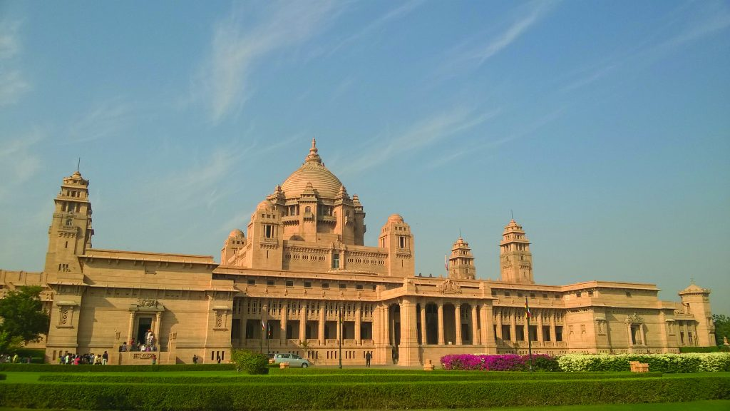 View of the Umaid Bhawan Palace in 2015 Luxury Heritage Hotels in India