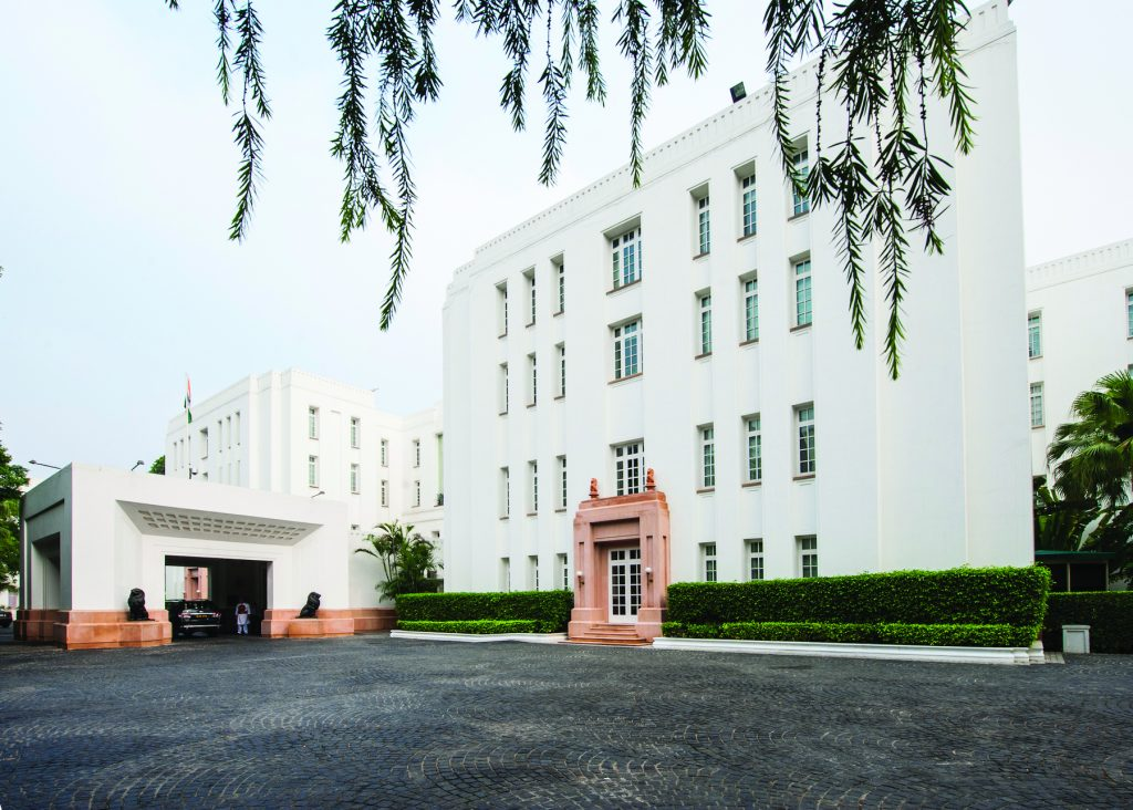 facade the imperial new delhi Luxury Heritage Hotels in India