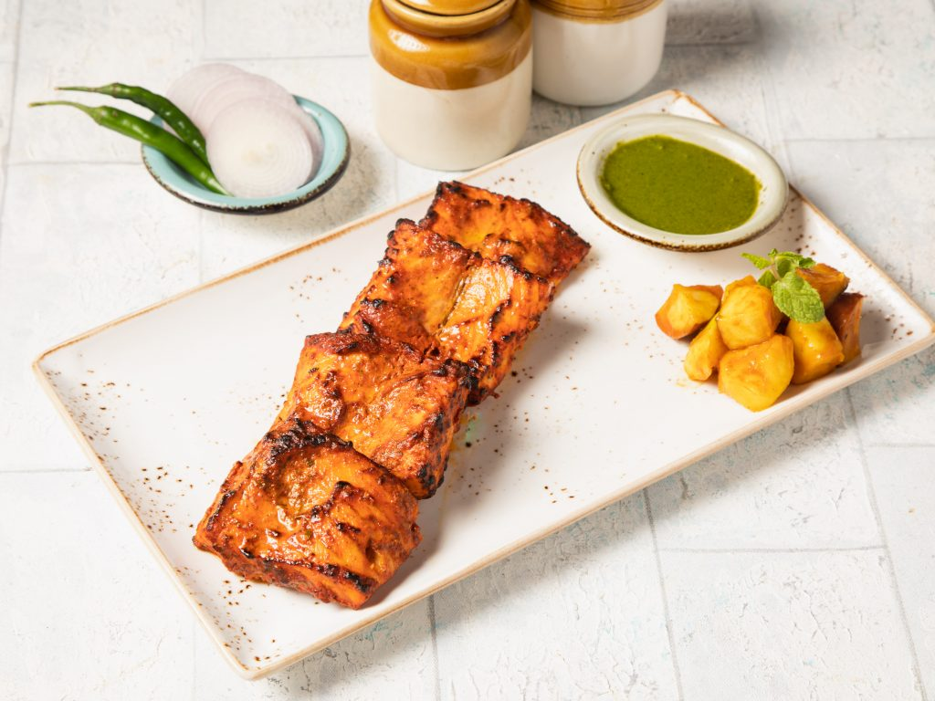 04 Tandoori salmon Try your hand - 20 most popular dishes at Indian weddings