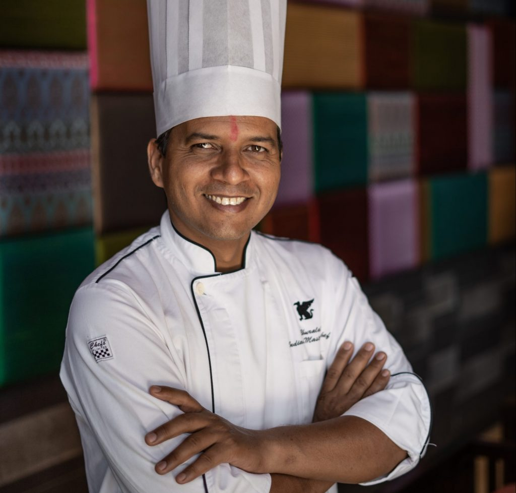5A9B242C EE04 4CEE B6D6 B273BD53AF43 scaled e1618475312485 My favourite dish to cook during Navratri: Indian Master Chef Maharaj Bhuralal, JW Marriott Pune