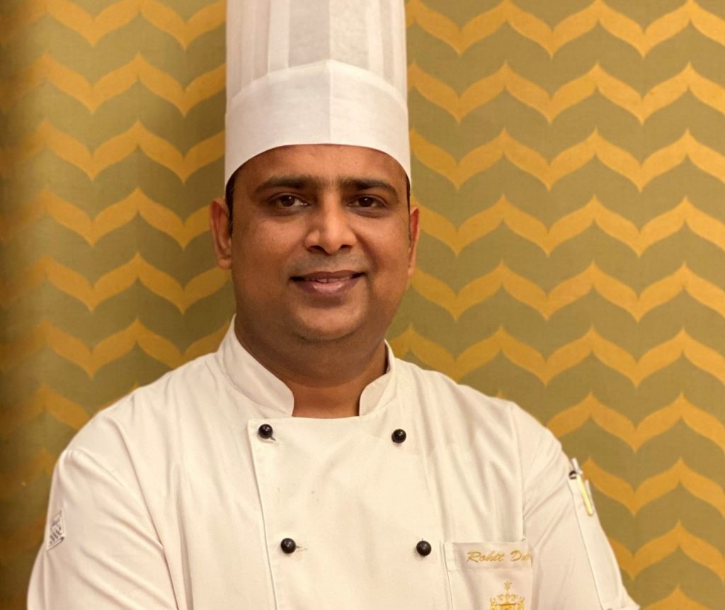 Chef Rohit Dubey scaled e1618400403146 My favourite dish to cook during Navratri: Chef Rohit Dubey, Taj Ganges Varanasi