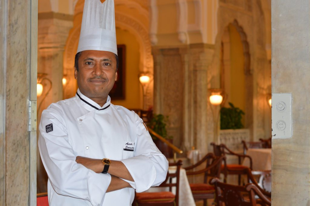 Executive Chef Asish Roy Rambagh Palace Jaipur Try your hand - 20 most popular dishes at Indian weddings