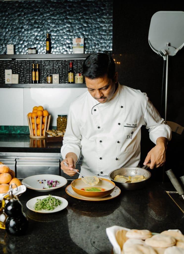 Executive Chef Nitin Mathur Taj Santacruz Mumbai Try your hand - 20 most popular dishes at Indian weddings