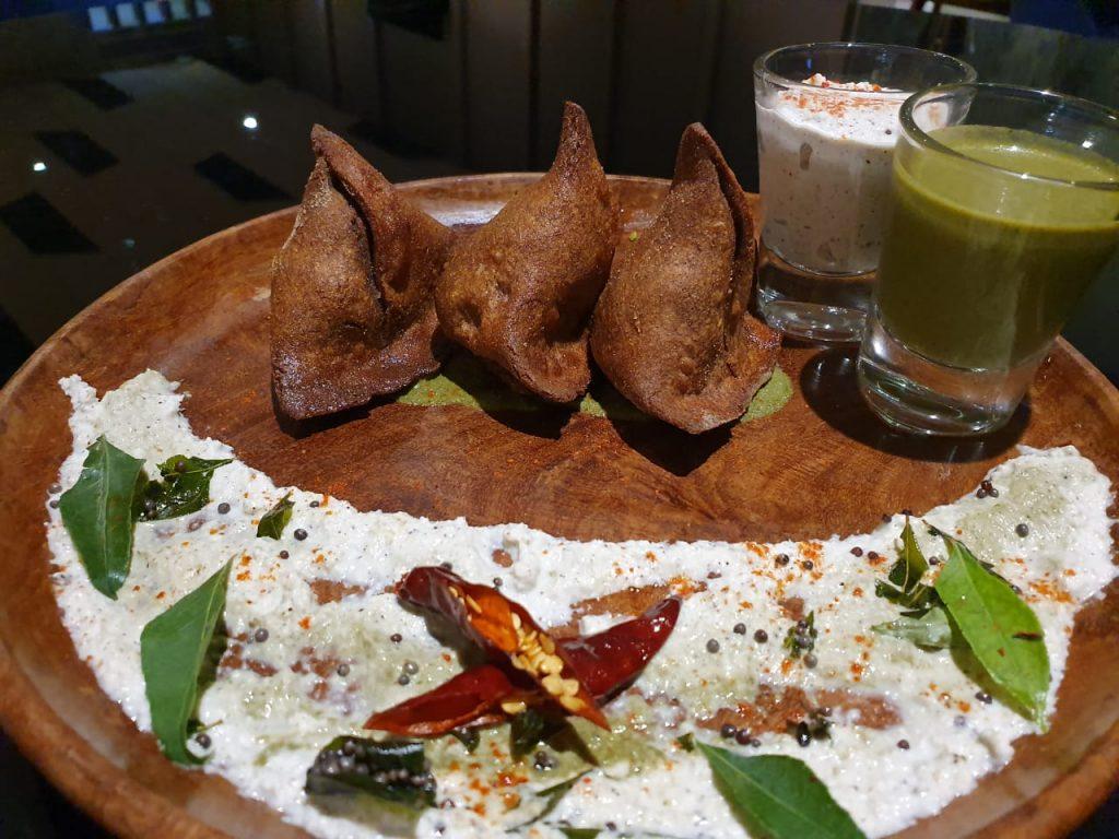 Ramada Lucknow Dish Singhare Ke Atte Ka Samosa My favourite dish to cook during Navratri: Exec Chef Avinash Kumar, Ramada Lucknow