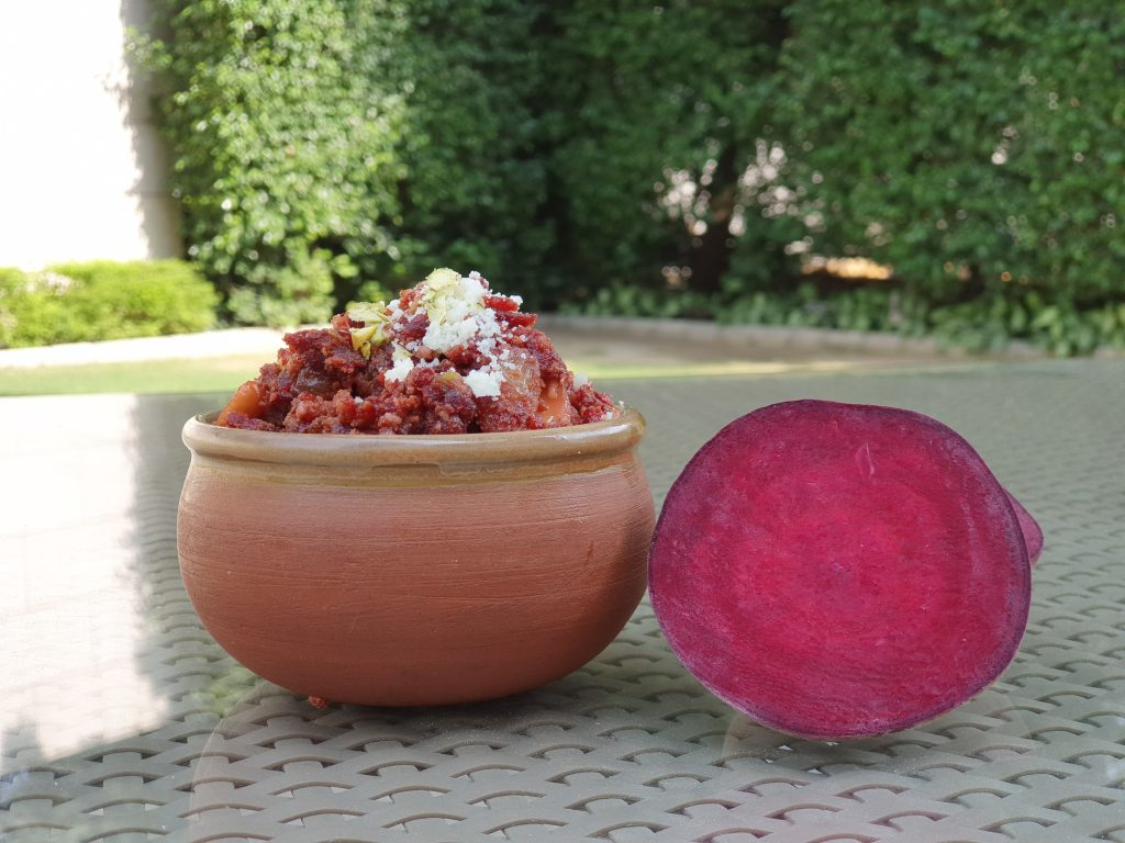 Recipe 1 Beetroot Halwa Photo 2 Taj City Centre Gurugram 2 Try your hand - 20 most popular dishes at Indian weddings