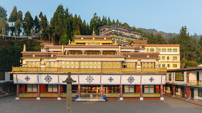 Rumtek Monastery Gangtok: From majestic Mountains to meditative Monasteries