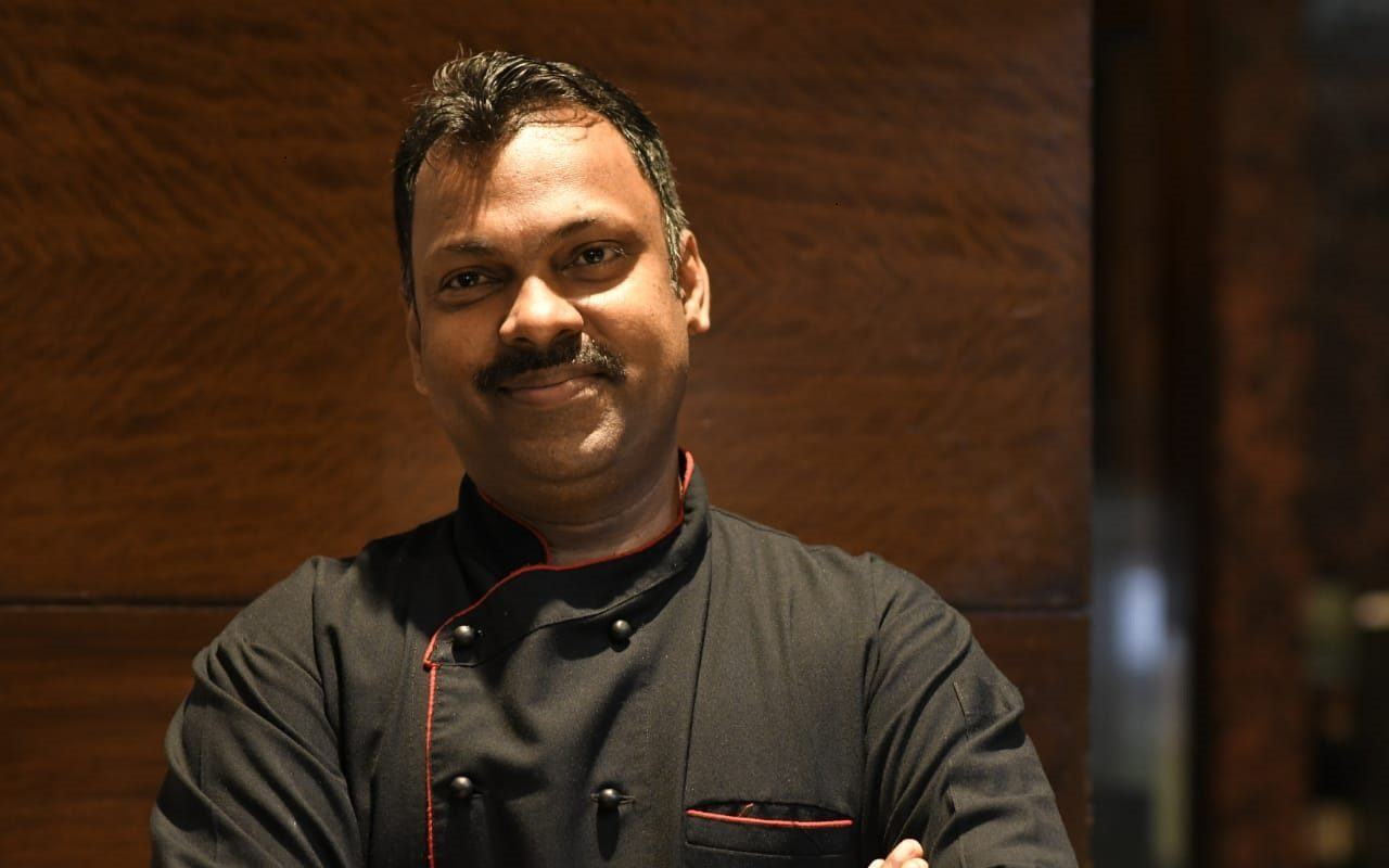 Chefs Picture edited Favourite Chocolate Delight : Exec Chef Sreenivasan G, Radisson Blu Plaza Delhi Airport