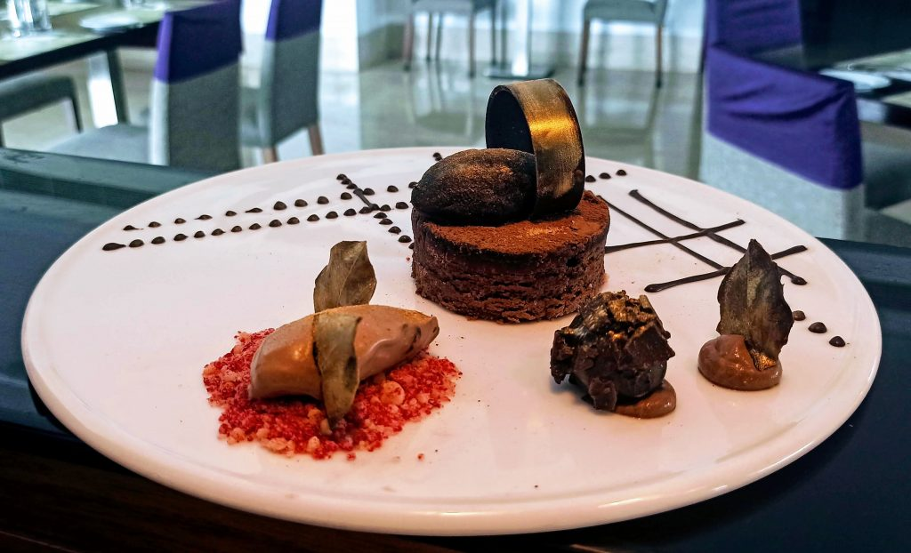 Favourite Choco Delight - Chocolate Brownie by Sous Chef Ganesh Gangoni, Mercure Hyderabad KCP