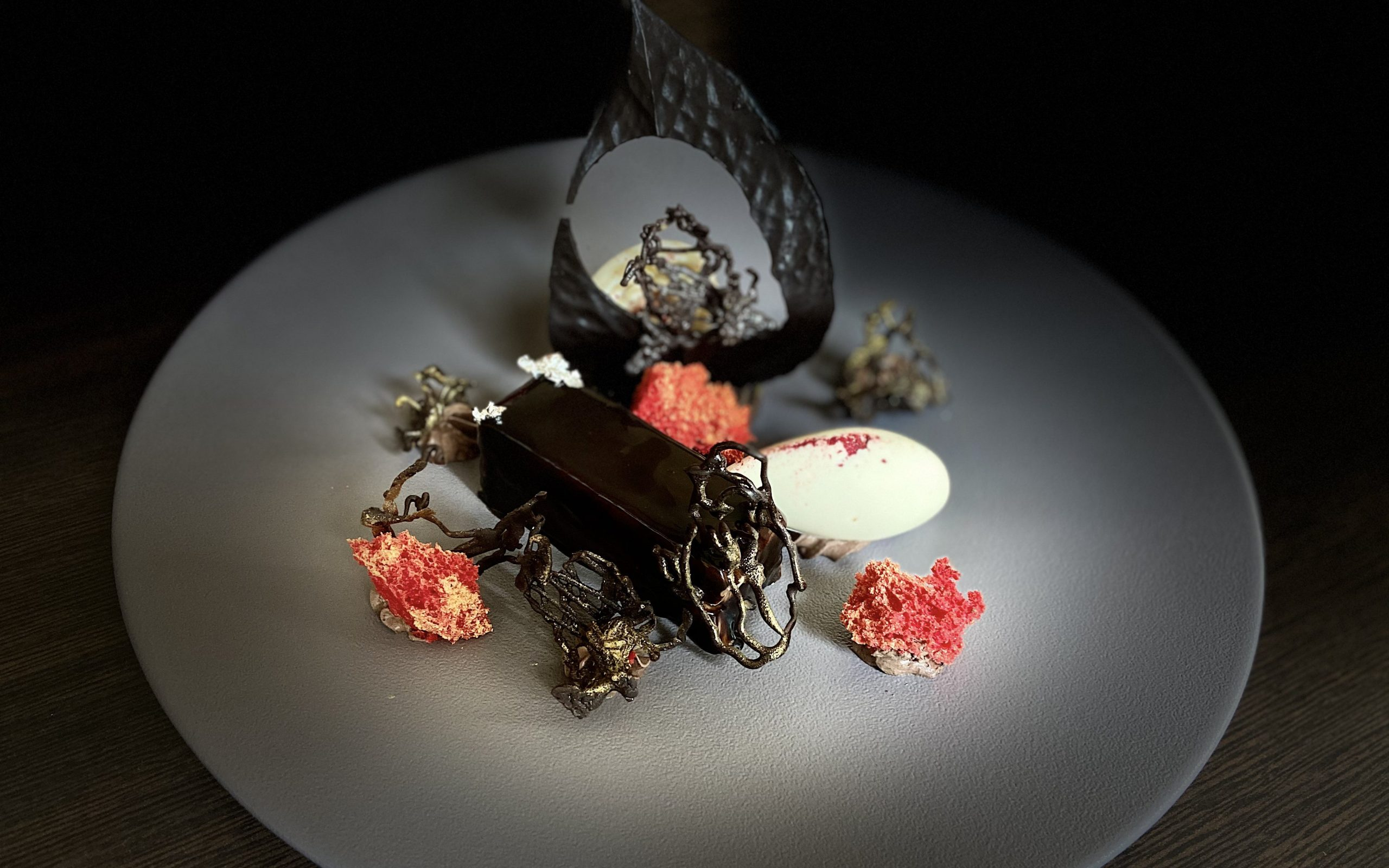 Favourite Choco Delight - Chocolate Cremeux by Exec Pastry Chef Sunil Mhatre, Meluha The Fern, Powai