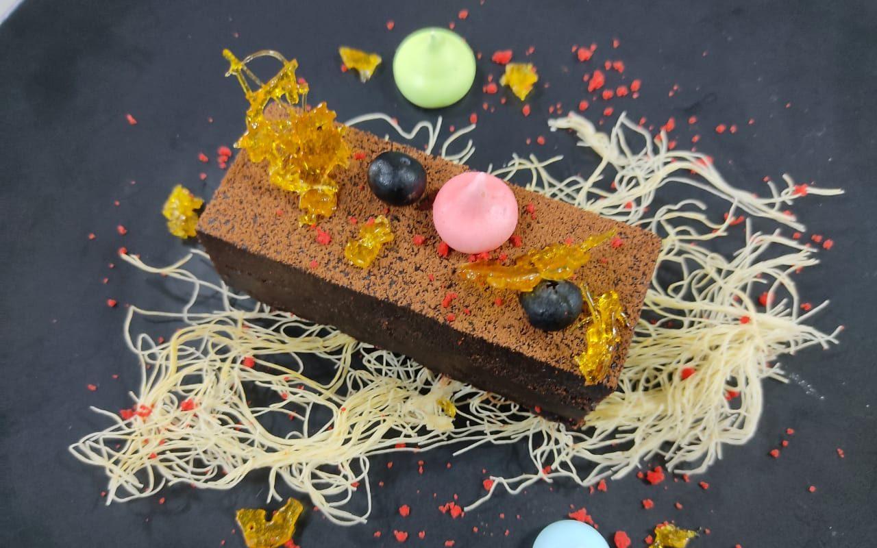 Favourite Choco Delight - Flourless Chocolate Marquise by Exec Chef Sreenivasan G, Radisson Blu Plaza Delhi Airport